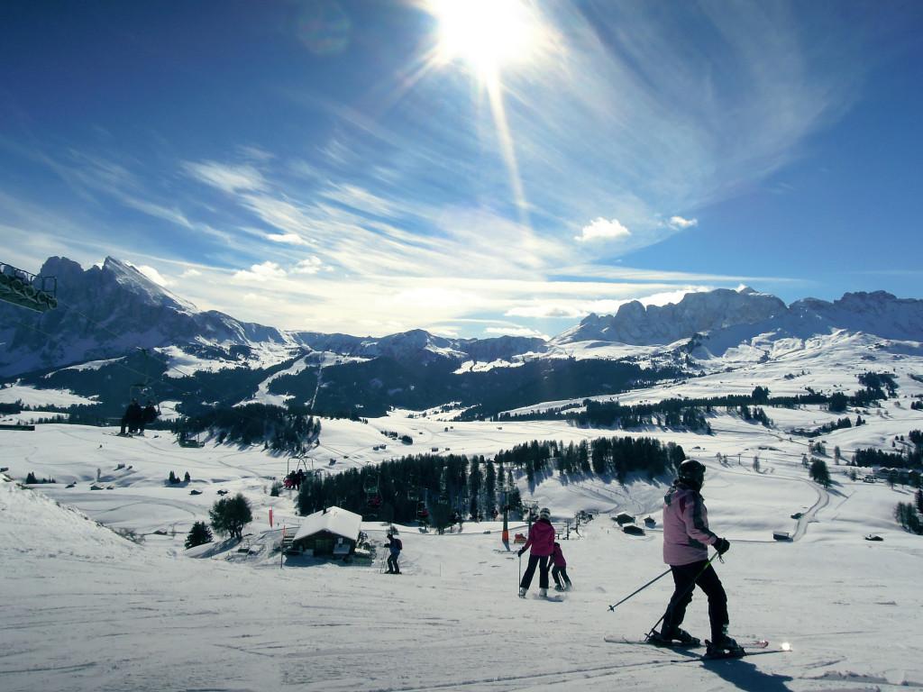skijanje Val Gardena