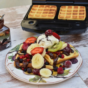 Sočne i mekane waffle