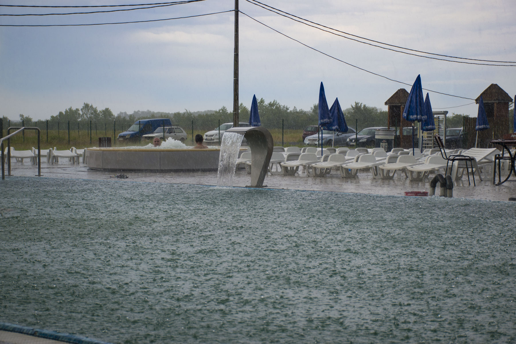 Spring in the Aqua Park. Visit Zasavica