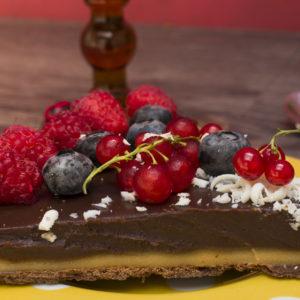 Čokoladni tart sa marcipanom