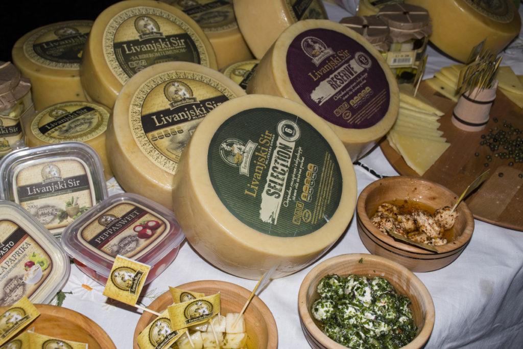 Festival sira u Beogradu Livanjski sir