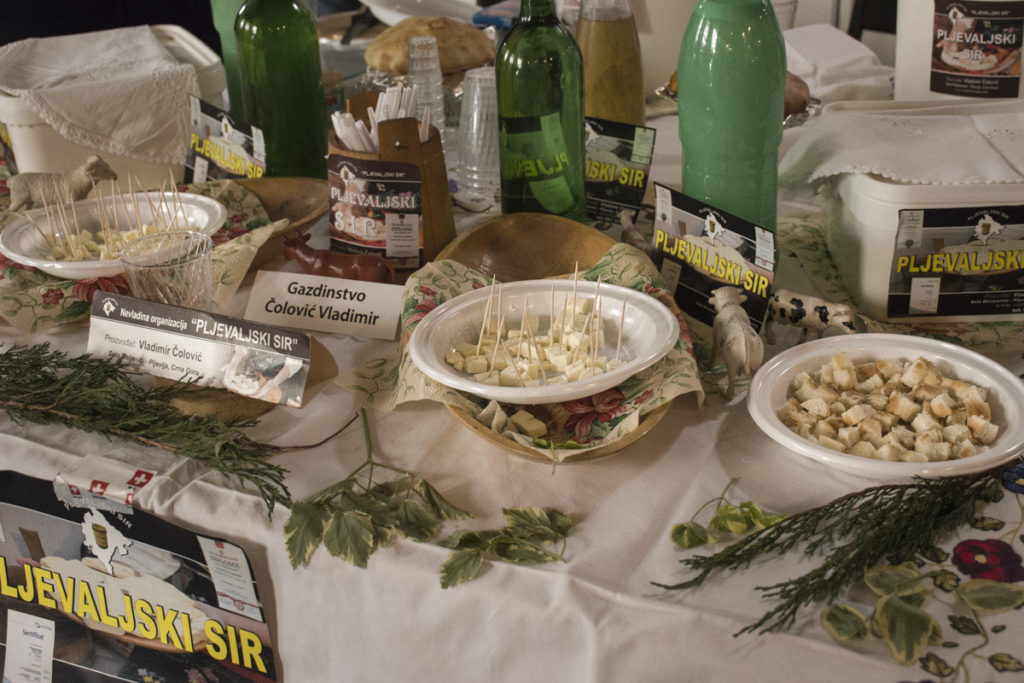Festival sira u Beogradu Pljevaljski sir