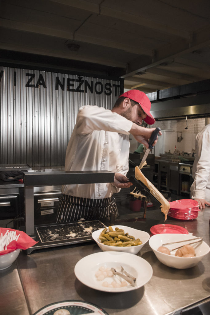 IV Cheese Festival-Festival sira u Beogradu Raclette