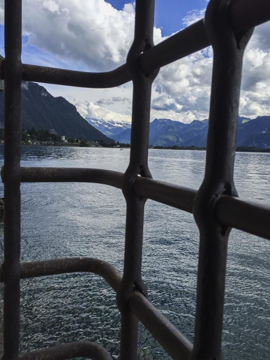 Lake Geneva Chillon castle