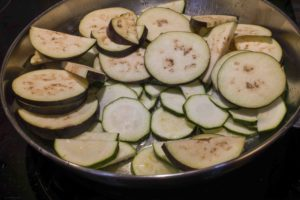 Ratatouille roasted vegetables