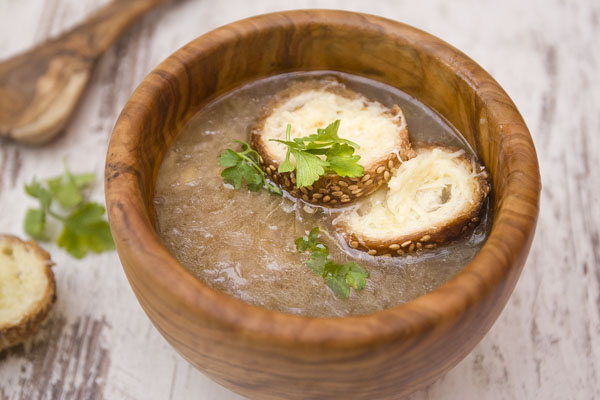 How to make French onion soup?