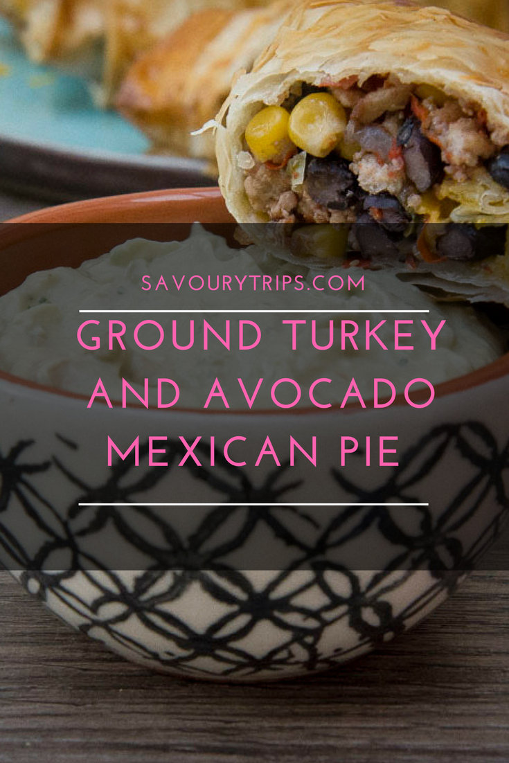 Ground turkey and avocado Mexican pieGround turkey and avocado Mexican pie (3)
