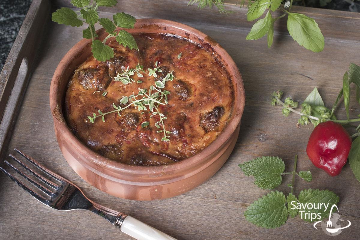 Italijanska kobasica i pečena paprika