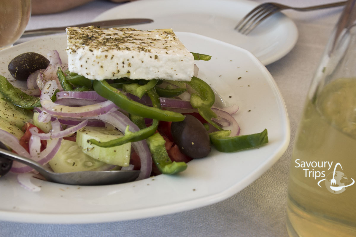 Food, Trip to Greece