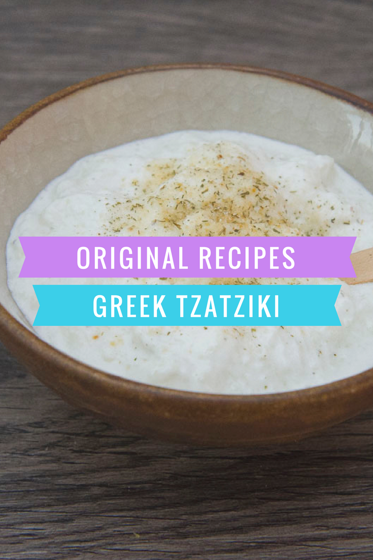 Original recipes Greek Tzatziki