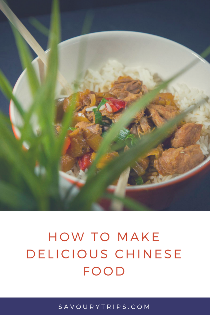 How to make delicious Chines food