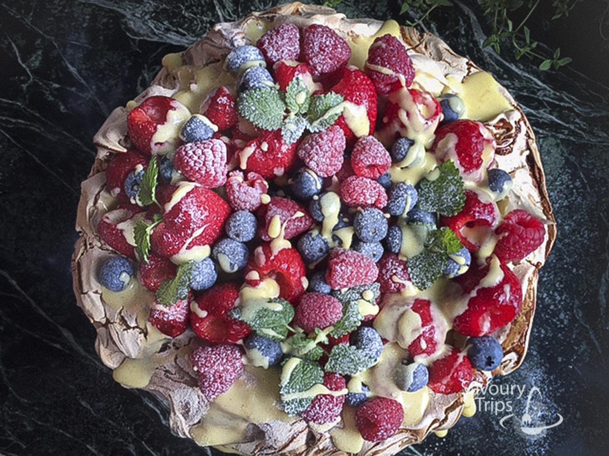 vocna torta pavlova