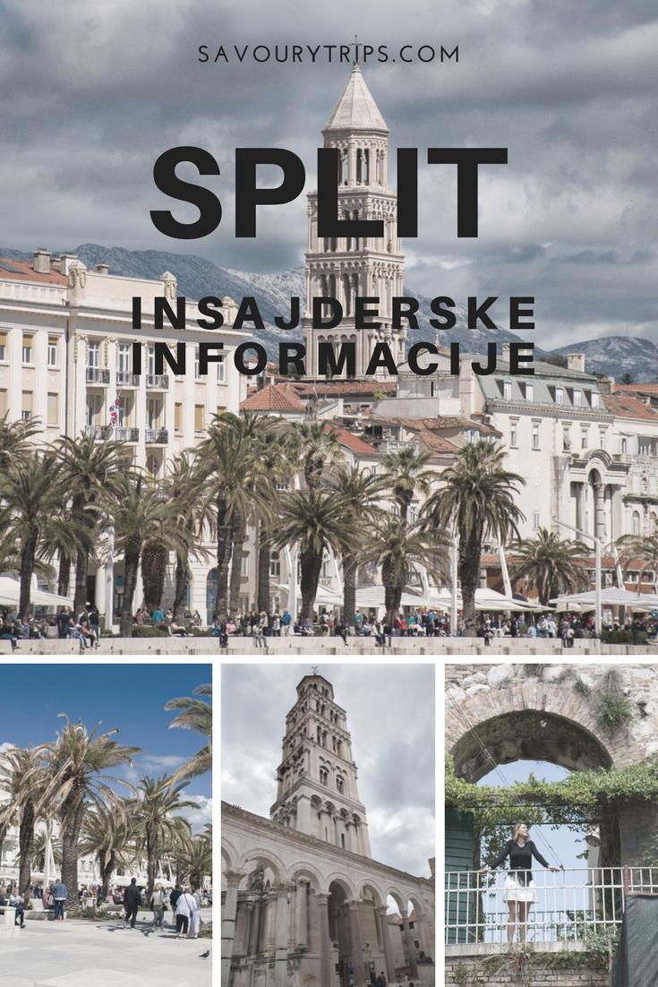 Split, Hrvatska gde, kako, koliko biti?