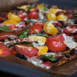 The simplest way to make the best veggie pizza