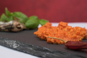 Spanish romesco dip recipe