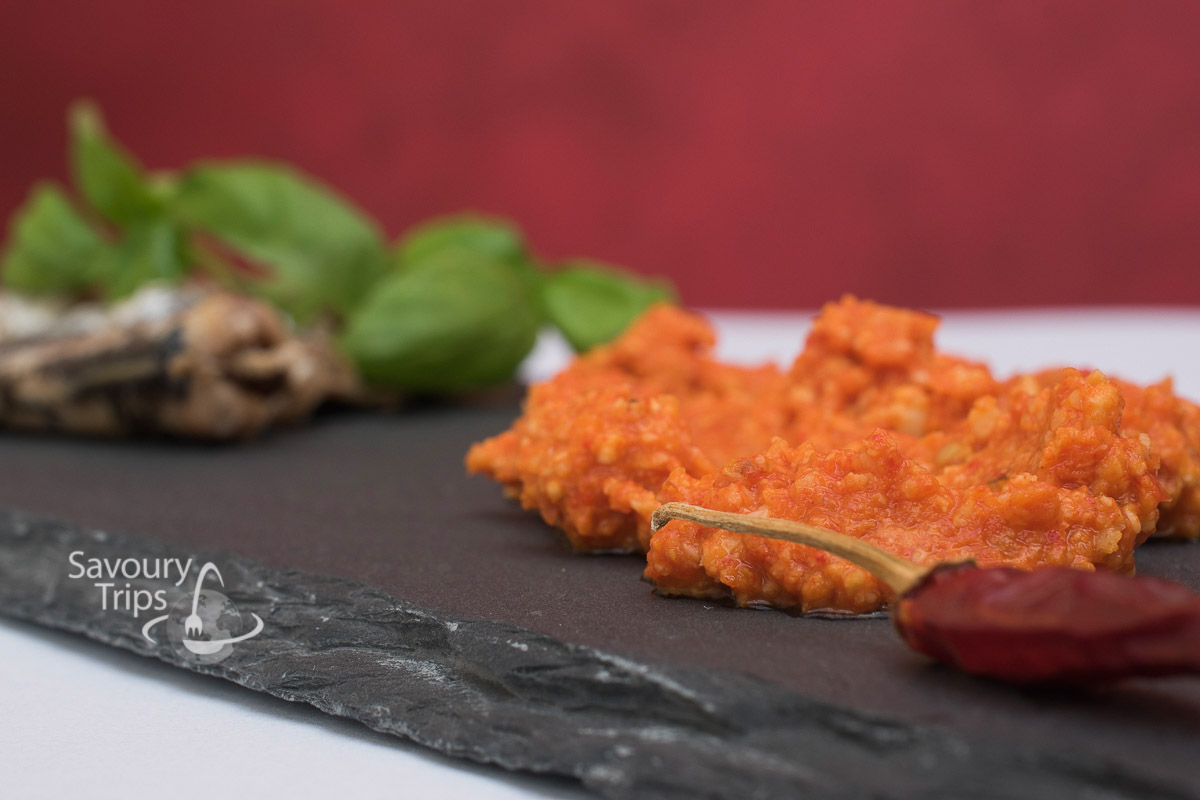 Spanish romesco sauce recipe