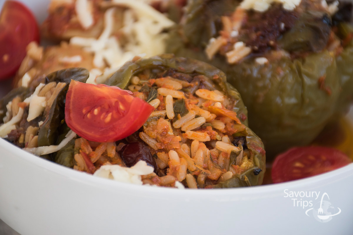 stuffed tomatoes stuffed peppers
