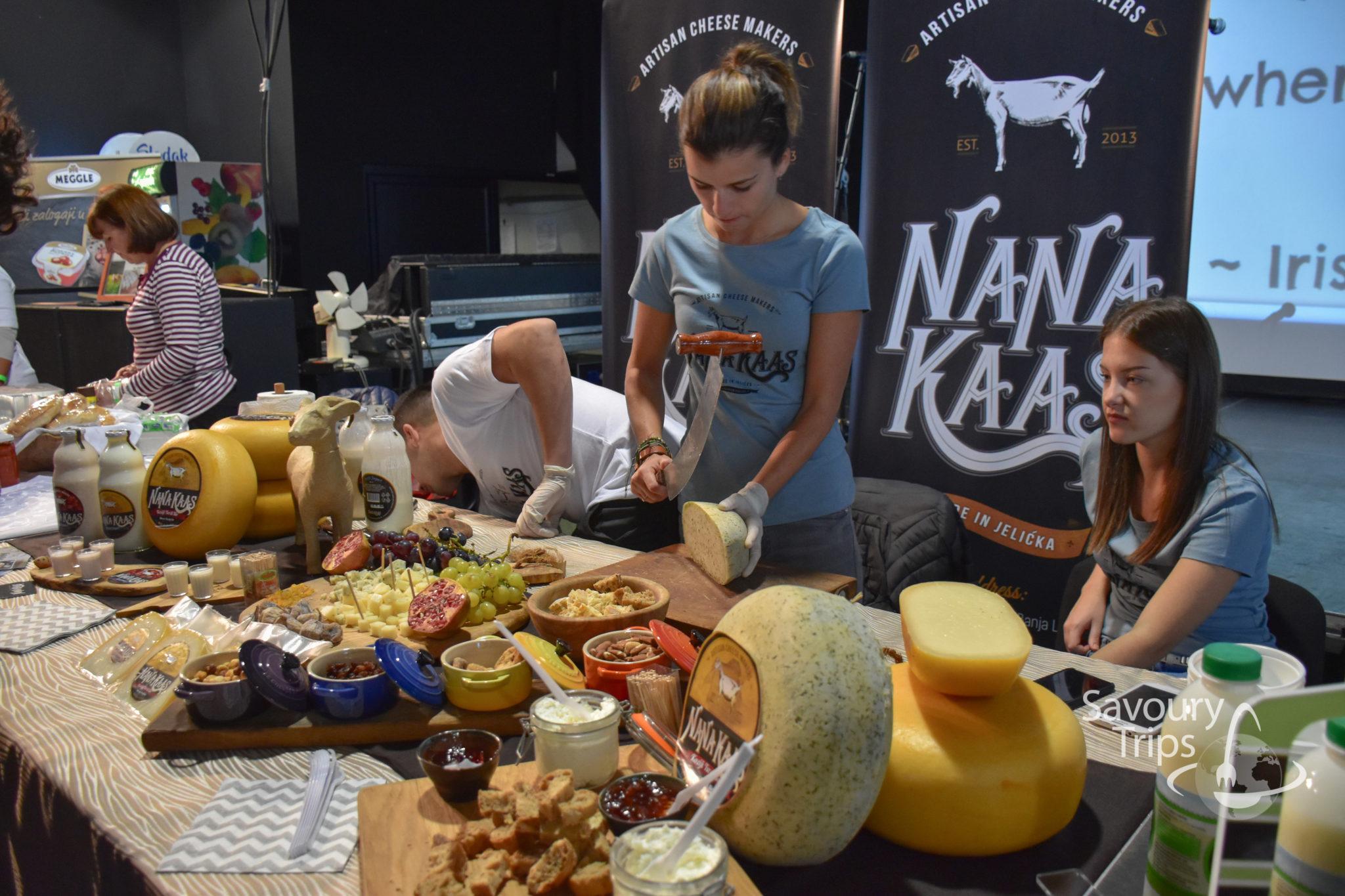 Balkan Cheese festival / Festival sira u Beogradu
