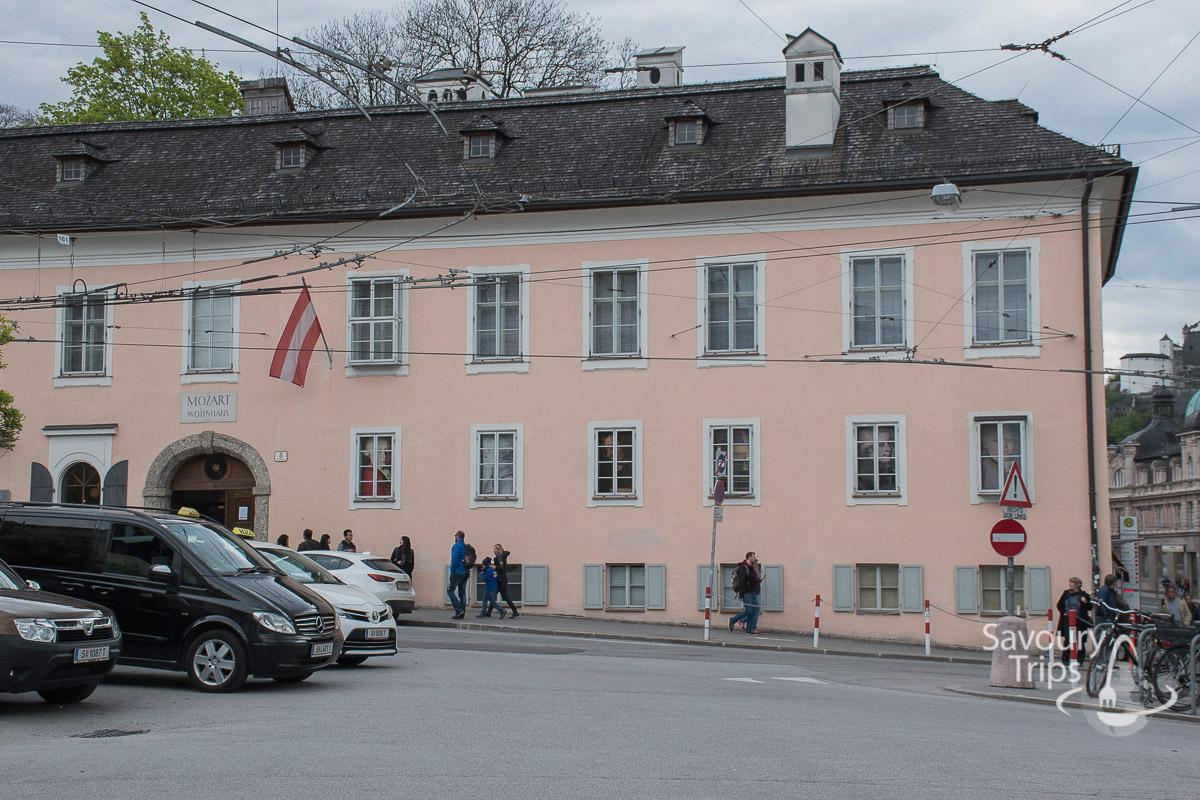 Salzburg Austria Mozart House