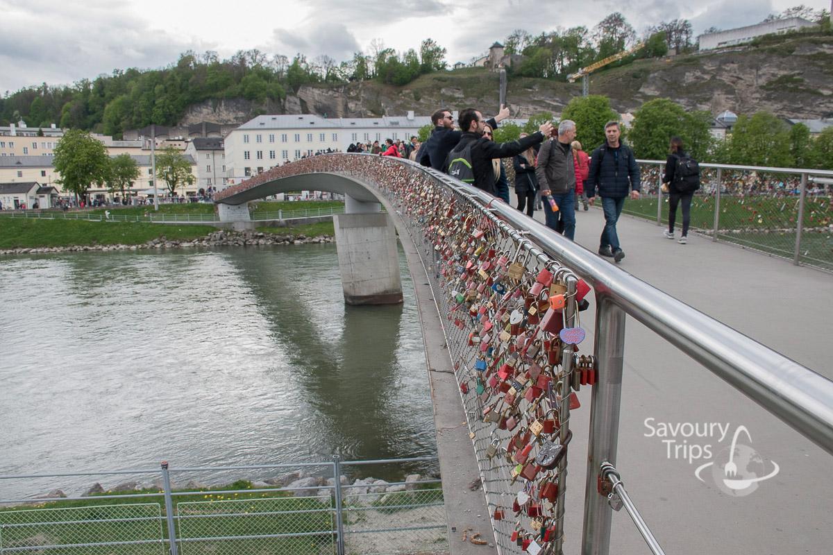Salzburg Austria Salzach reka