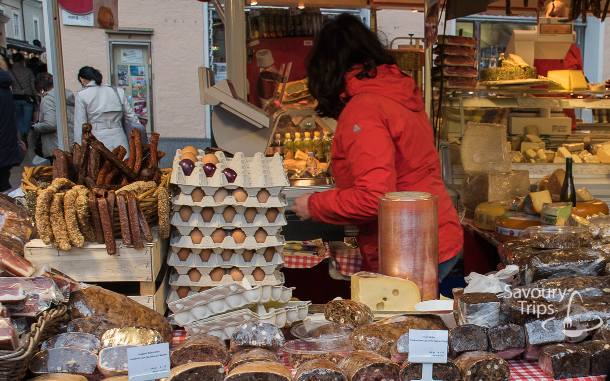 Salzburg Austria Zelena pijaca Grunmarkt