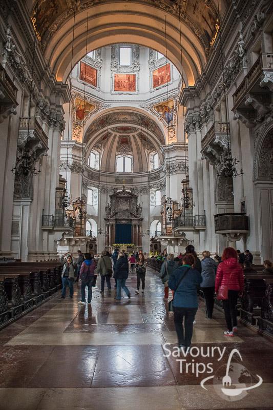 Salzburg Austria DomQuartier katedrala Salzburg