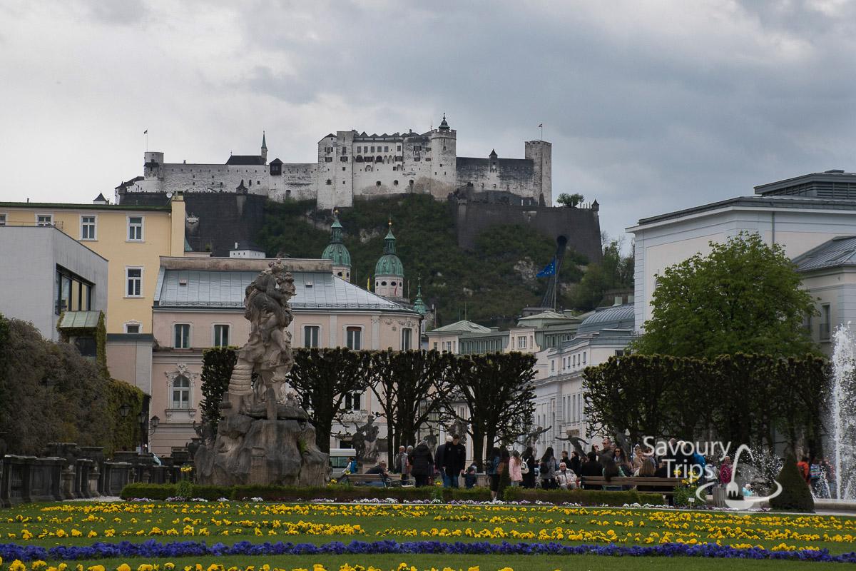 Salzburg Austria Mirabellgarten