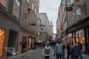 Salzburg Austria Stari grad Old Town