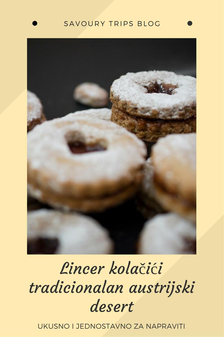 U samo 4 koraka lincer kolačići po tradicionalnom austrijskom receptu