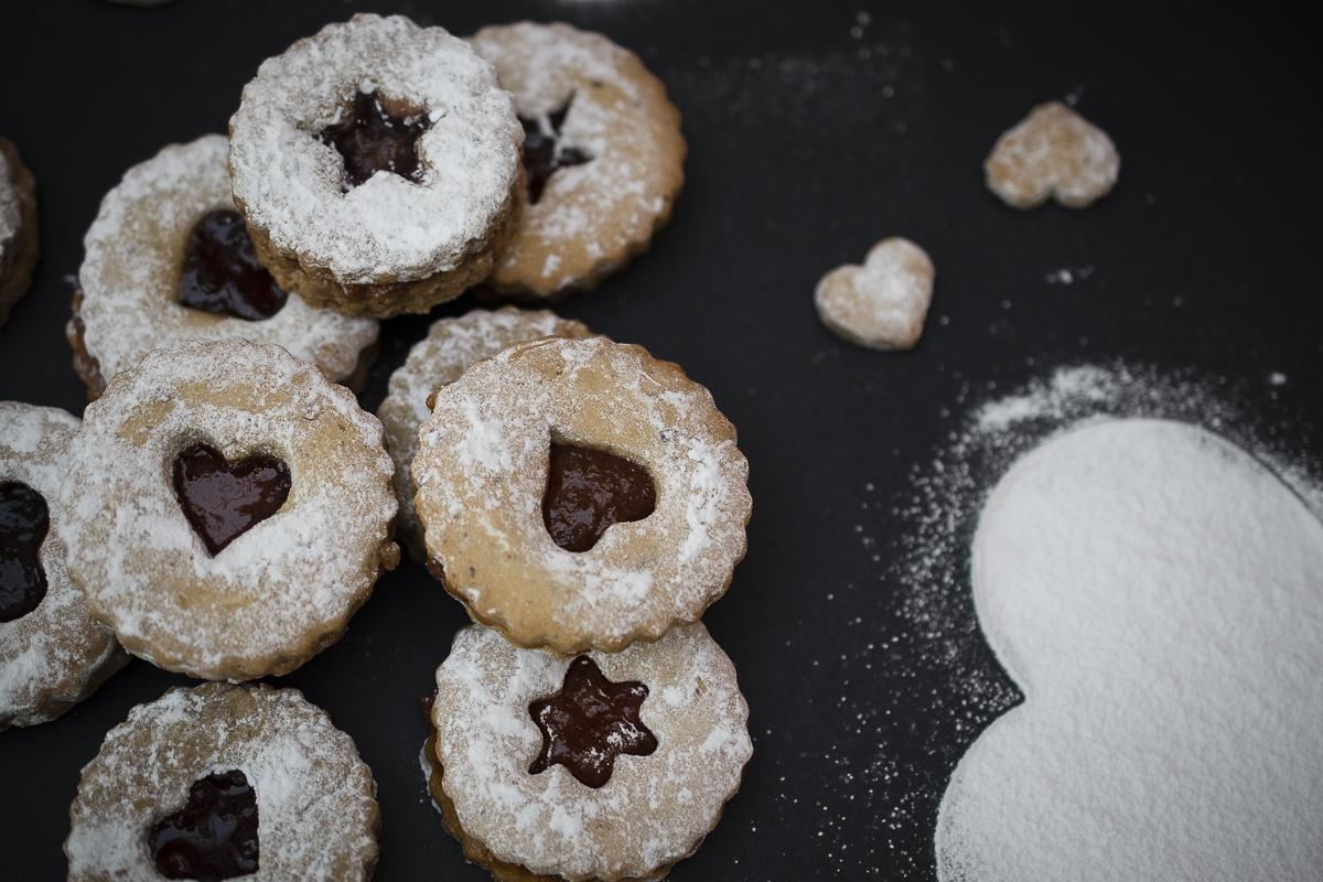 Lincer kolačići / Linzer cookies recipe