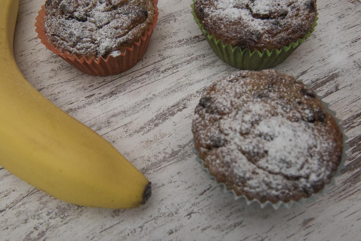Mafini od banane / Healthy maffins