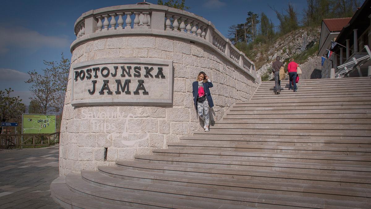 Park Postojnska jama Slovenija _ Postojna Cave Slovenia_