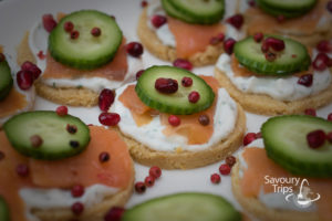 Losos recept za kanapee / salmon recipe, smoked salmon recipes