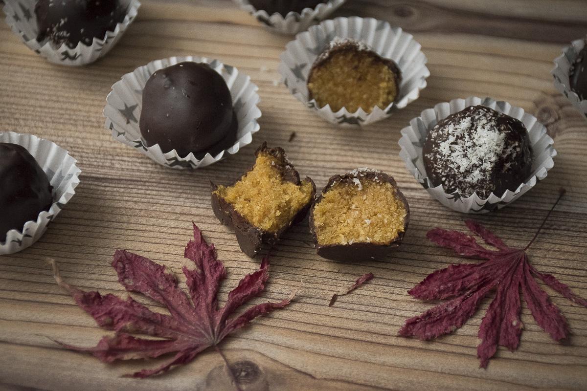 Posni sitni kolači od bundeve i čokolade / Low fat pumpkin recipes