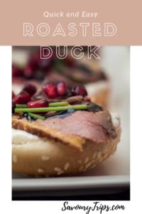Roasted Duck Breast recipe, easy to prepare