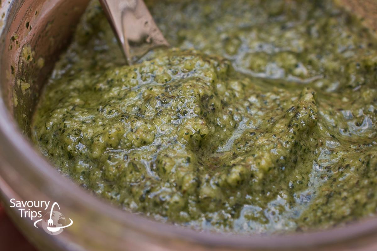 Domaći pesto sos / Homemade pesto sauce