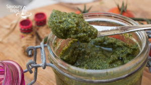 Domaći pesto sos / Homemade pesto sauce
