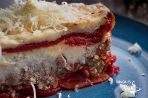 Lazanje od pečenih paprika/ Lasagna with roasted peppers