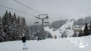 Nassfeld ski staze / Nassfeld ski slopes