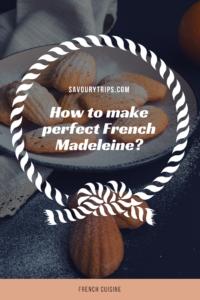 Recipe for French Madeleine #Frenchmadeleine