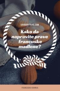 Recept za francuske Madlene #recepti #francuskakuhinja #madlene