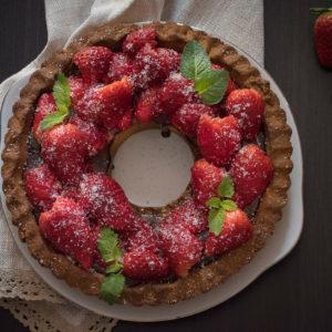 Receot za Tart od jagoda i čokolade/Tart od jagoda i čokolade / Strawberry Tart Recipe
