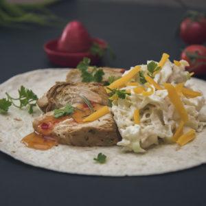 Recept za tortilje sa piletinom i mladim kupusom / Recipe chicken tortillas and baby cabbage