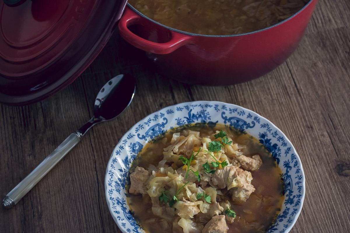Recept za kuvani kupus sa mesom / sauteed cabbage and turkey recipe