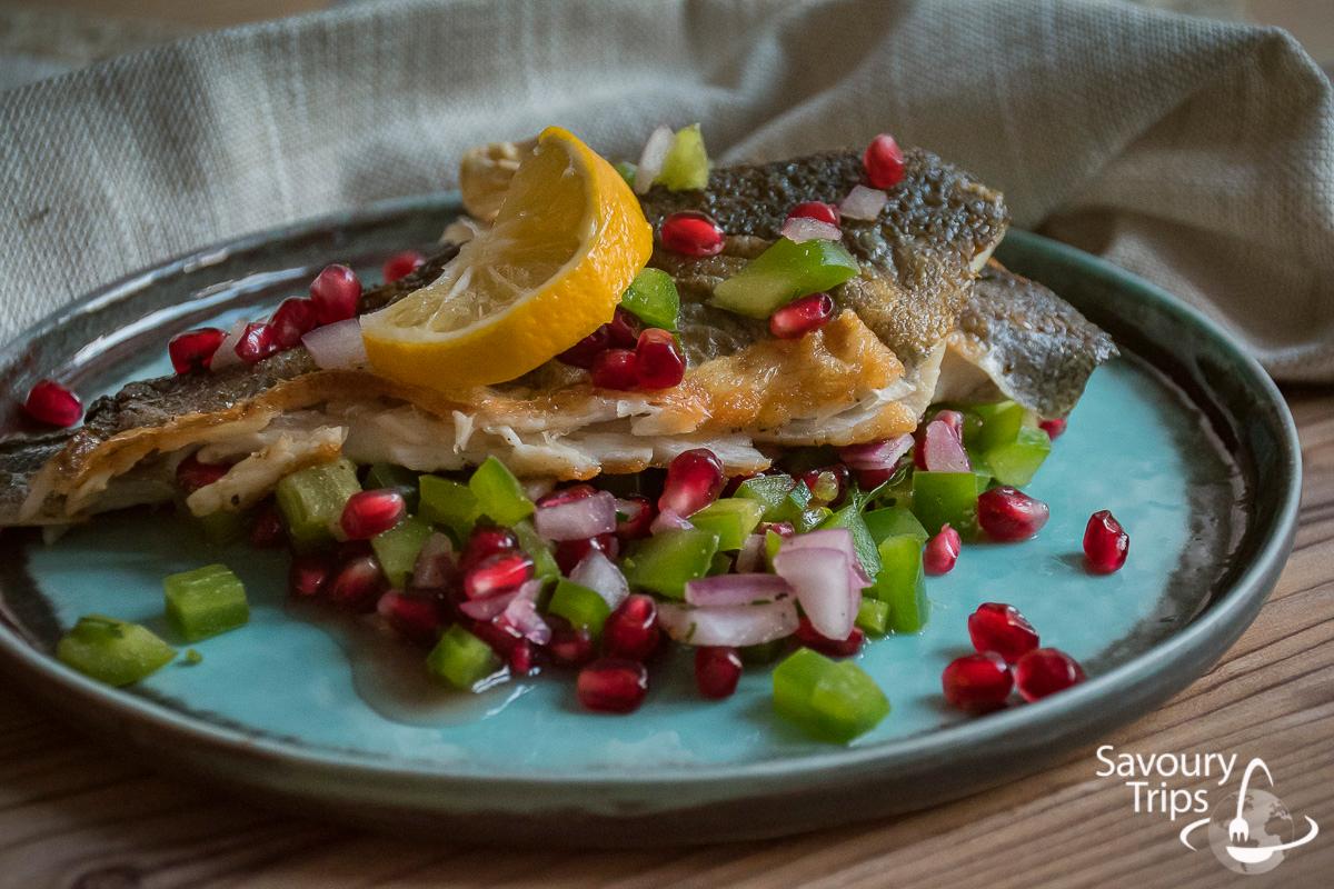 Orada pečena u tiganju sa salsom od nara recept