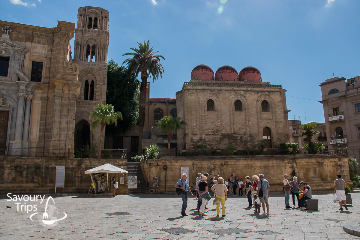 Sicilija Palermo Trg Pretorija iskustva / Sicily Palermo review