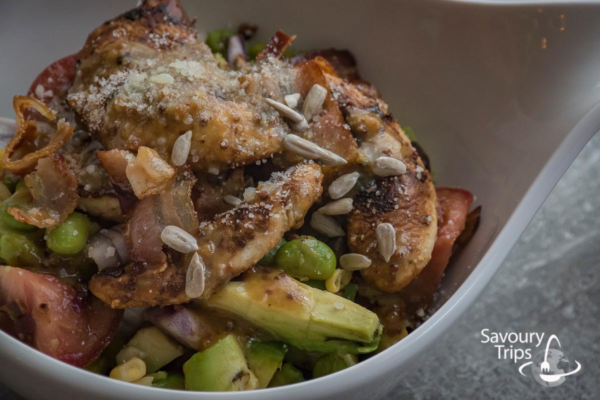 Recept za piletinu sa povrćem u marinadi od meda i senfa / Recipe for Healthy chicken breast marinade
