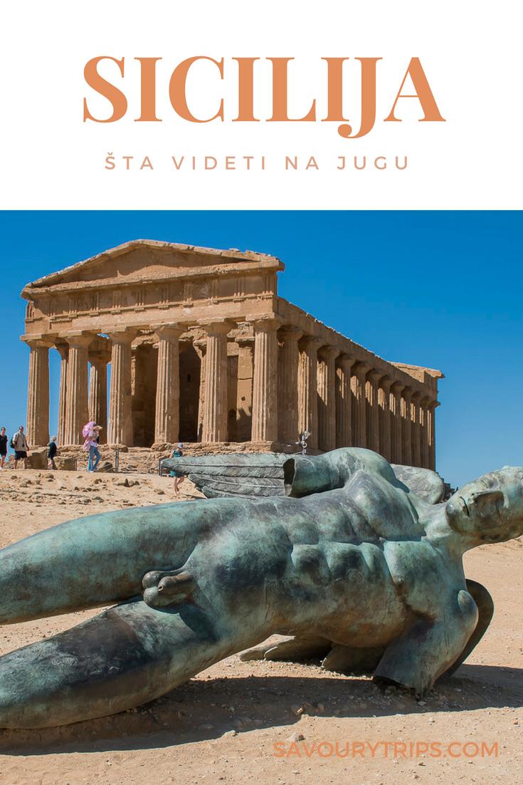 Sicilija putovanje Agrigento i Piazza Armerina