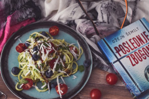 Spiralizer tikvice sa sirom i avokadom / spiralizer zucchini pasta salad with avocado and goat cheese