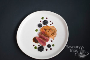 What for dinner? Fine dining recipe